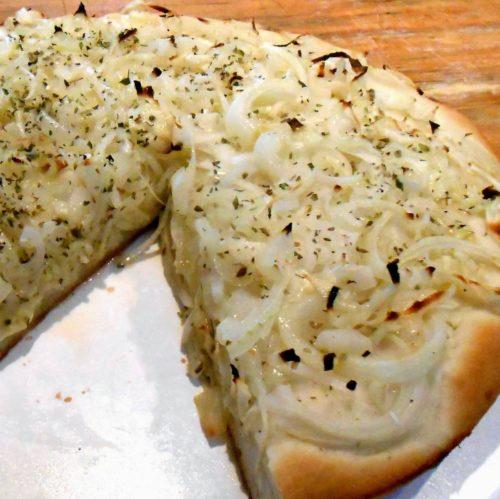 Pizza de Cebolla